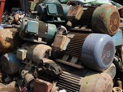 回收报废电机